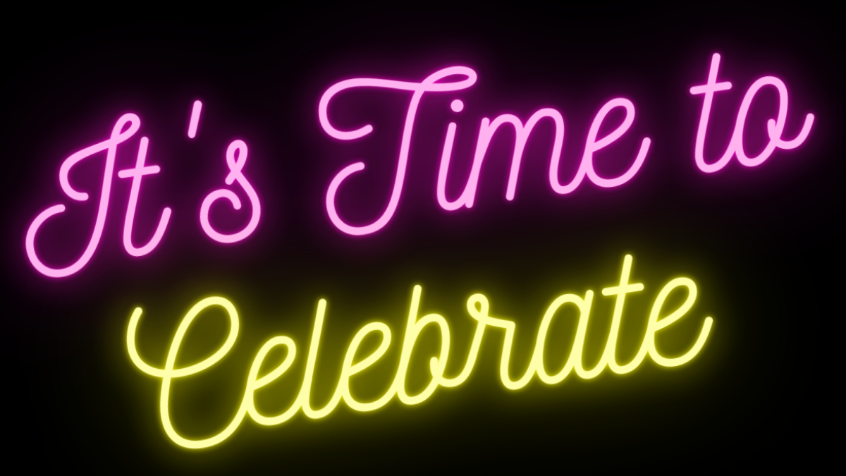 It's Time to Celebrate